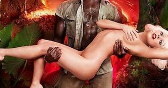 Lady Gaga Sexy Nude Photos with Kanye West