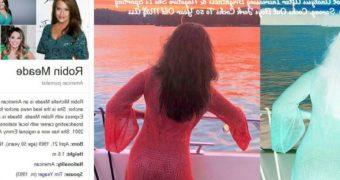 Robin Meade HLN Secret Bikini Stash