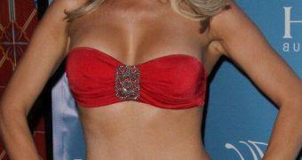 Joanna Krupa at Hapari Bikini Line Launch in Las Vegas