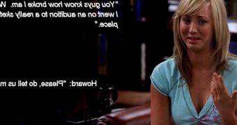 Big Bang Theory: Penny has a hard audition