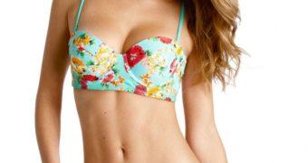Nina Agdal - Aerie Bikini Photoshoot