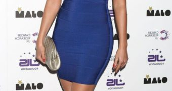 Kelly Brook at JLS Foundation and Cancer Research Fundraiser