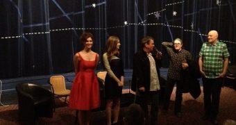 Saoirse Ronan and Gemma Arterton - Byzantium screening