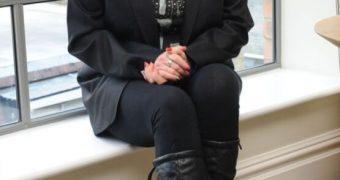 Old tarty UK soap star Beverley Callard