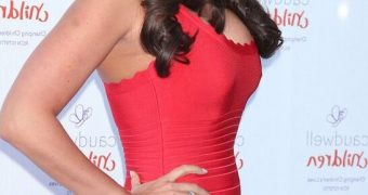 Tamara Ecclestone attending The Butterfly Ball