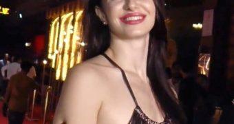 Georgia Andriani- Sexy Busty Italian Model and Indian Film Celeb