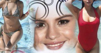 sexy teen Selena Gomez fan-art