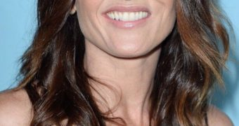 Robin Tunney Nip Slip At Variety & Women in Film Pre-Emmy Celebr