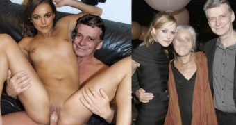 CELEBS DO INCEST Keira Knightley sits on her daddys lap