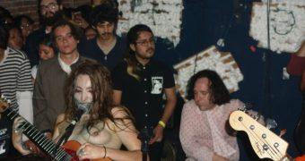 Sloppy Jane Nude on Stage
