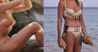 James Bond actresses dressed undressed
