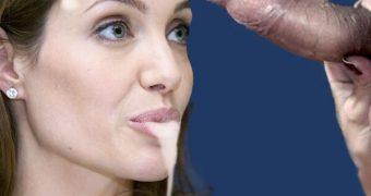 Angelina Jolie fakes