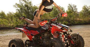 Jordan Carver - ATV