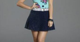 Hayley Orrantia Legs & Heels
