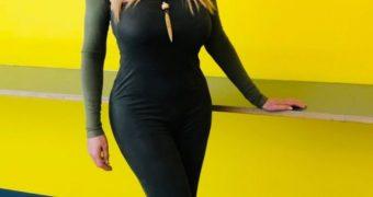 Carol Vorderman - Tight Trousers