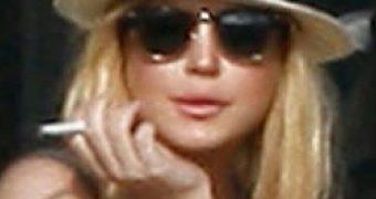 Smoking Gals: Lindsay Lohan Edition