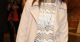 Luscious Leather brunette