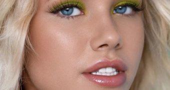 Natalia Krasavina (Nata Lee). Russian model.