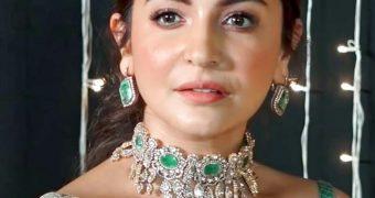 Anushka Sharma- Stunning Indian Celeb/Model in Transparent Saree