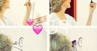 Princess Diana paints