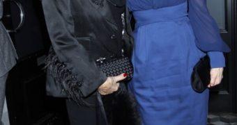 Dita Von Teese & Joan Collins