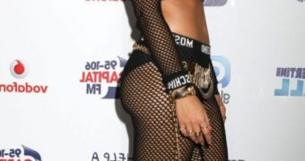 Rita Ora Seethru panties