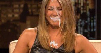 jennifer anniston cumshot fakes