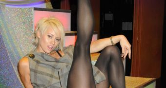 Kimberly Wyatt - Pussycat Doll Slut in Pantyhose
