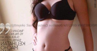 Tasya Model Bikini Indonesian Majalah Gress indo