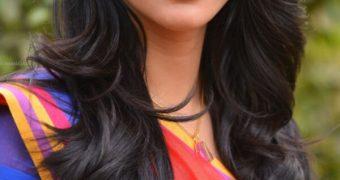 Shruti Haasan- Curvy Indian Bollywood Celeb in Traditional Saree