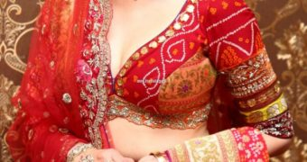 Aditi Rao Hydari - Gorgeous Indian Beauty in Royal Bridal Outfit