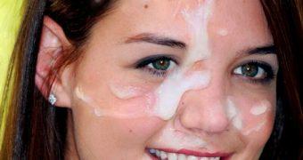 Katie Holmes Facials