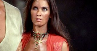 CAROLINE MUNRO, FORGOTTEN ACTRESS I USED TO CUM TO ALL THE TIME!