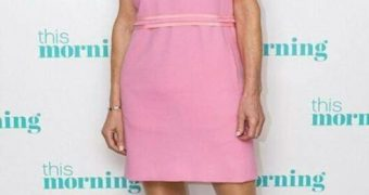 Anthea Turner Another C-List TV Presenter in Pantyhose