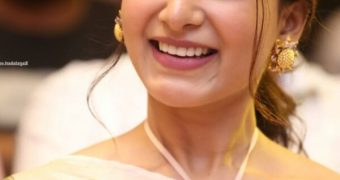 Samantha Akkineni - Beautiful Indian Diva at JAANU Success Event