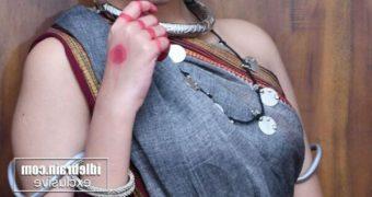 Antasheela Ghosh- Hot Indian Bengali Diva in Ethnic Tribal Saree