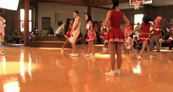 Kim K Cheerleader