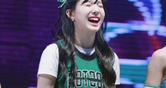 Irene and Nayeon Cheerleaders