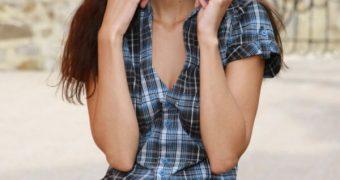 Anna AJ Sbitnaya beautiful nude model from Kiev, Ukraine