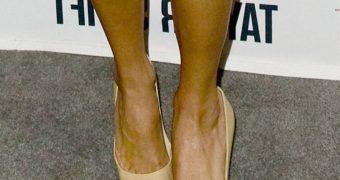 Taylor Swift Closeup Feet