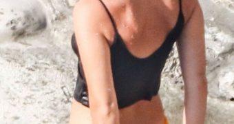 Emma Watson on holiday in Positano, Italy