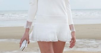 Celebs Wearing Miniskirt and Upskirt