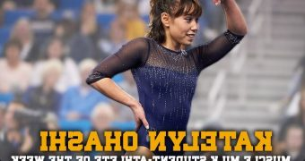 Asian American Gymnast Katelyn Ohashi