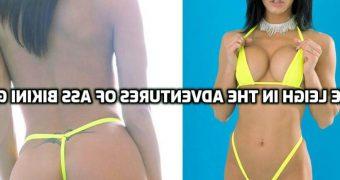 Bree Leigh Tiniest Bikini Yet Yellow Micro Jerk Off Boys