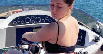 Emma Kenney - Booty boat