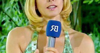 German TV babes, Andrea Otto, horny?