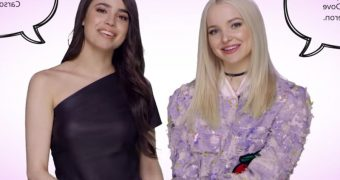 Dove and Sofia swap dads: the interview