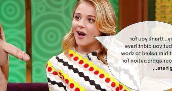 Chloe Moretz Comparison Captions
