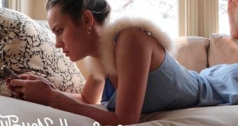 Brie Larson has marvelous feet