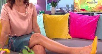 Marlene Lufen  - geile Beine und hohe Hacken